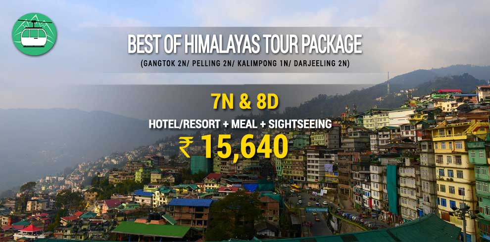 Best Of Himalayas North East Tour Package