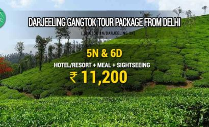 Darjeeling Gangtok tour package from Delhi