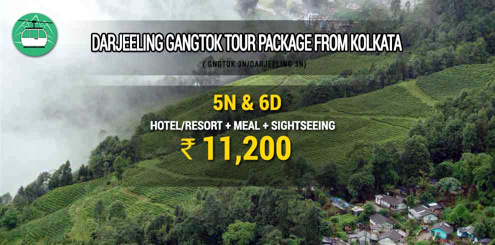 Darjeeling Gangtok tour package from Kolkata