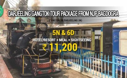 Darjeeling Gangtok tour package from NJP Bagdogra