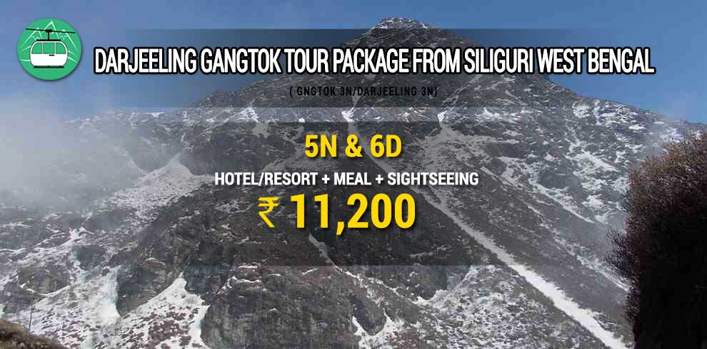 Gangtok tour package from Siliguri West Bengal