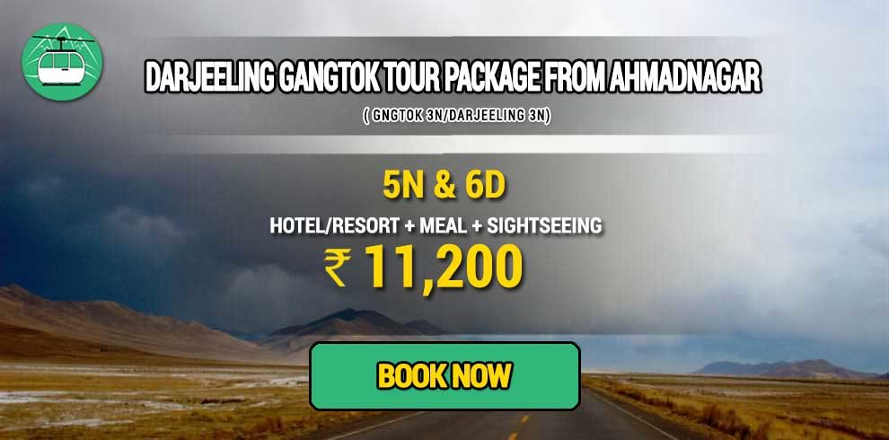 Darjeeling Gangtok package from Ahmadnagar