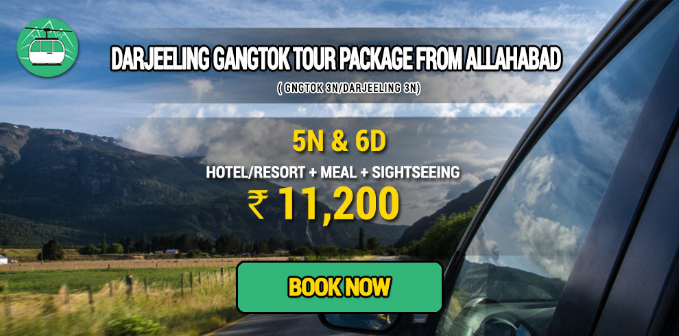Darjeeling Gangtok package from Allahabad