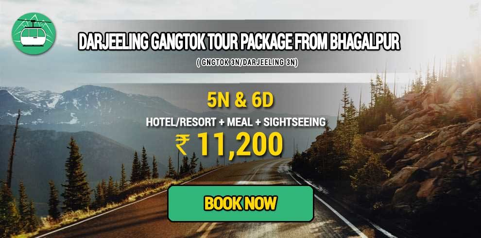 Darjeeling Gangtok package from Bhagalpur