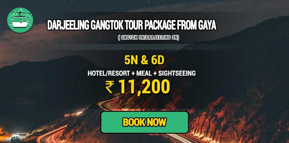 Darjeeling Gangtok package from Gaya