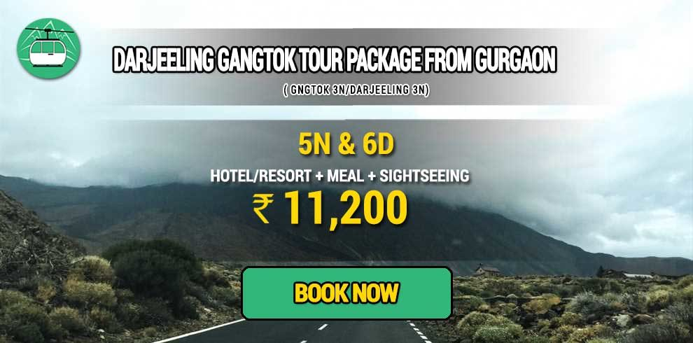 Darjeeling Gangtok package from Gurgaon