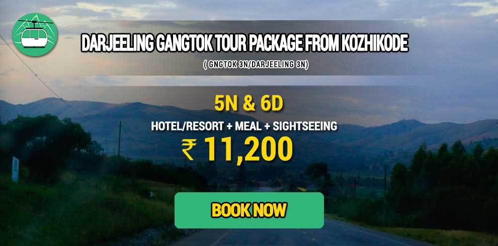 Darjeeling Gangtok package from Kozhikode
