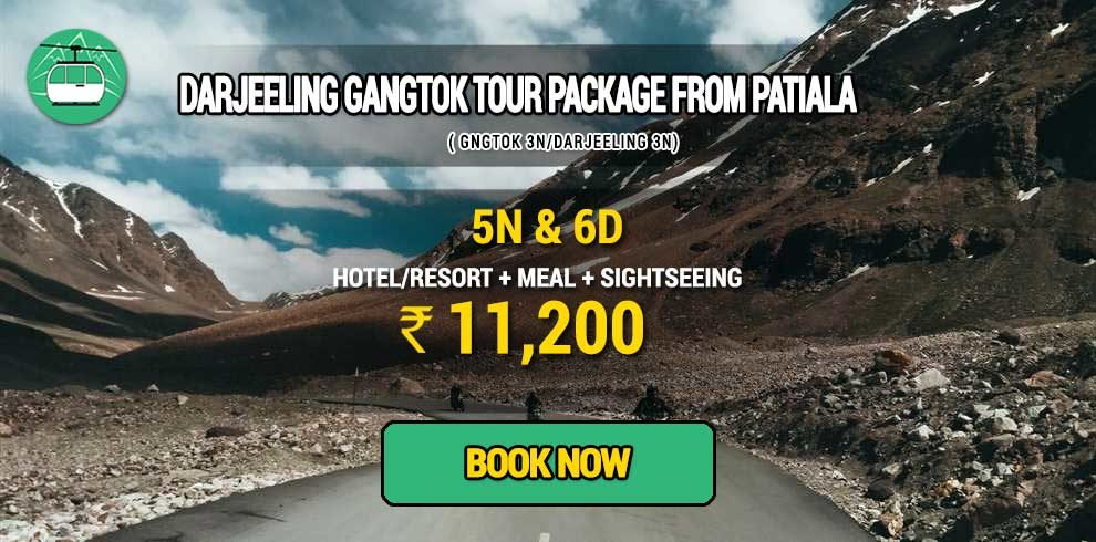 Darjeeling Gangtok package from Patiala