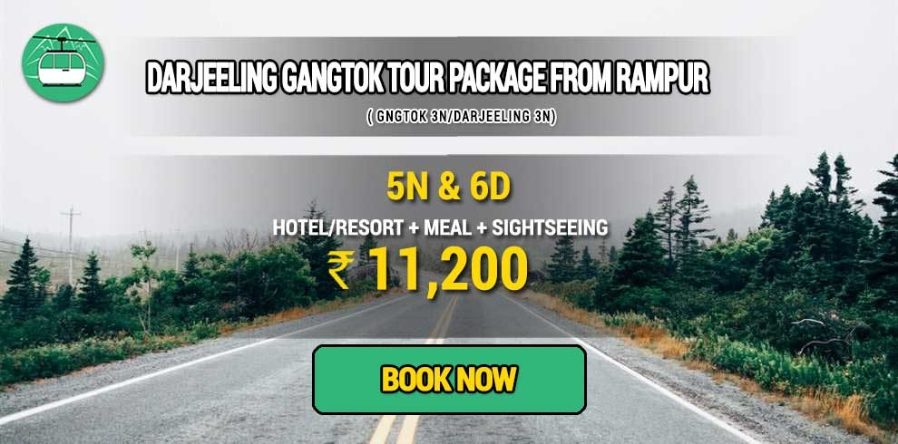 Darjeeling Gangtok package from Rampur