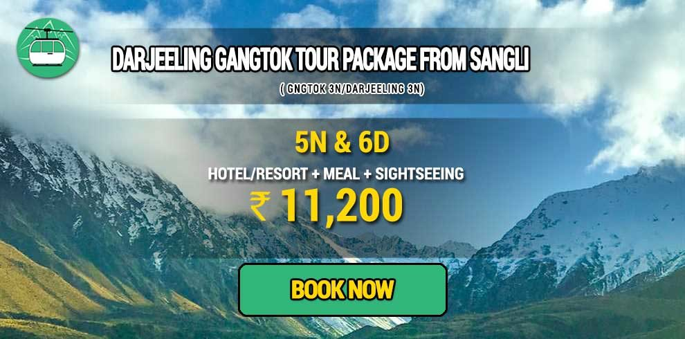 Darjeeling Gangtok tour package from Sangli