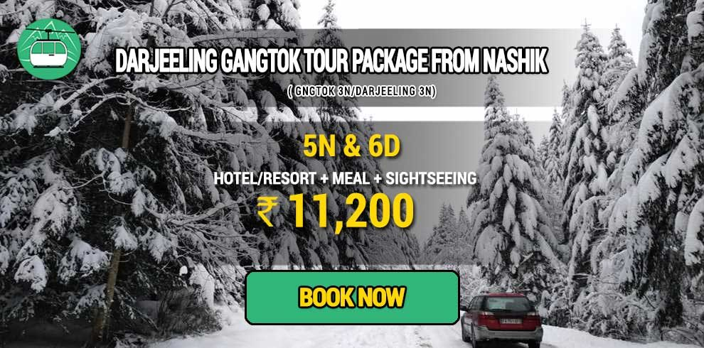Darjeeling Gangtok package from Vijayawada