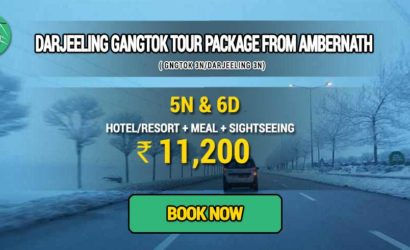 Sikkim Darjeeling Gangtok tour package from Ambernath