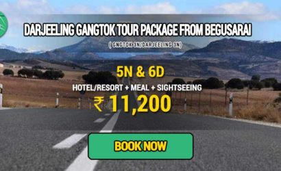 Sikkim Darjeeling Gangtok tour package from Begusarai