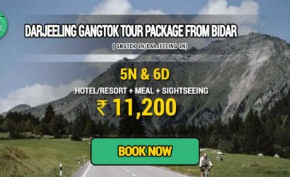 Sikkim Darjeeling Gangtok tour package from Bidar