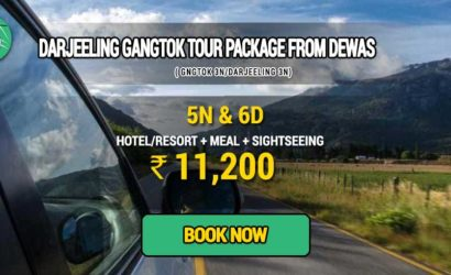 Sikkim Darjeeling Gangtok tour package from Dewas