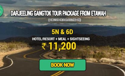 Sikkim Darjeeling Gangtok tour package from Etawah