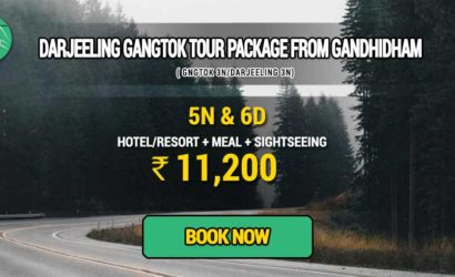 Sikkim Darjeeling Gangtok tour package from Gandhidham
