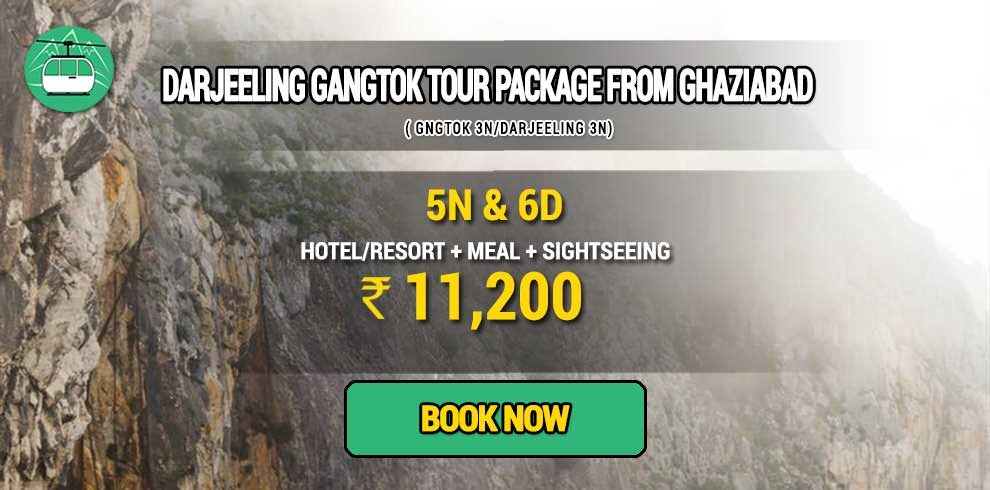 Sikkim Darjeeling Gangtok tour package from Ghaziabad