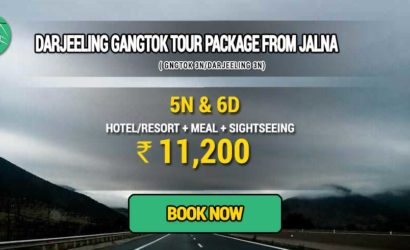 Sikkim Darjeeling Gangtok tour package from Jalna