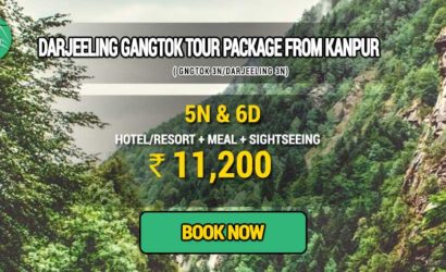 Sikkim Darjeeling Gangtok tour package from Kanpur