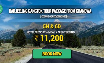 Sikkim Darjeeling Gangtok tour package from Khandwa