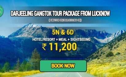 Sikkim Darjeeling Gangtok tour package from Lucknow