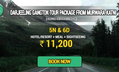 Sikkim Darjeeling Gangtok tour package from Murwara Katni