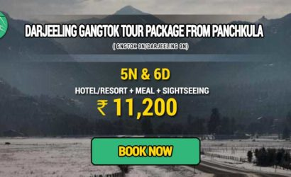 Sikkim Darjeeling Gangtok tour package from Panchkula