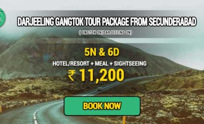 Sikkim Darjeeling Gangtok tour package from Secunderabad