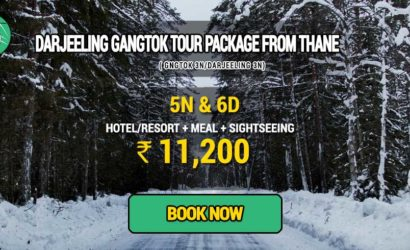 Sikkim Darjeeling Gangtok tour package from Thane